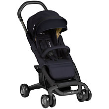 Buy Nuna Pepp Luxx Pushchair, Indigo Online at johnlewis.com