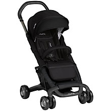 Buy Nuna Pepp Luxx Pushchair, Midnight Online at johnlewis.com