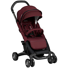 Buy Nuna Pepp Luxx Pushchair, Berry Online at johnlewis.com