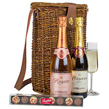 Buy John Lewis Prosecco Duo Hamper Online at johnlewis.com