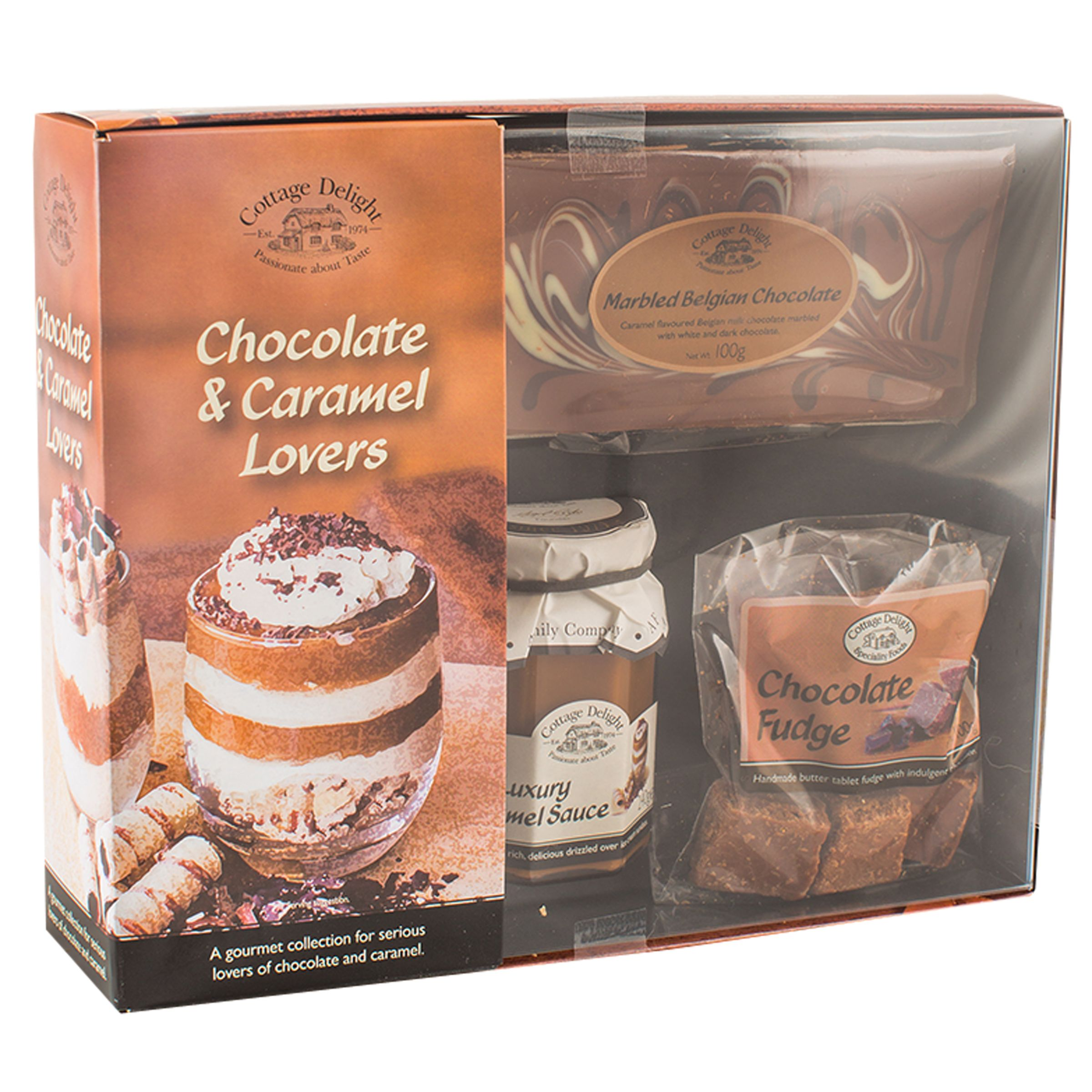 Cottage Delight Cottage Delight Chocolate & Caramel Lovers, 615g