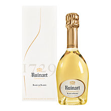Buy Ruinart 'Blanc De Blancs' Champagne, 35.7cl Online at johnlewis.com
