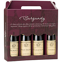 Buy Mini 'Burgundy' Wine Collections, 375ml, Set of 4 Online at johnlewis.com