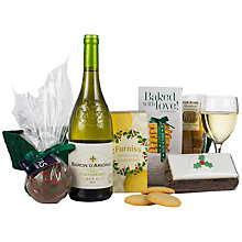 Buy John Lewis 'Christmas Tray' (White Wine) Online at johnlewis.com