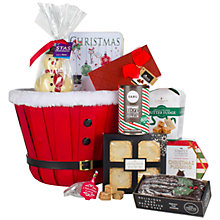 Buy John Lewis Santa Trug Hamper Online at johnlewis.com
