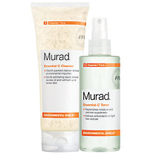 Buy Murad Environmental Shield Cleanser & Toner Duo Online at johnlewis.com