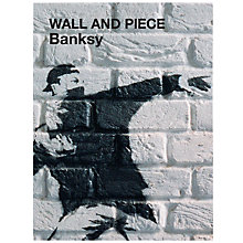 Buy Banksy Wall And Piece Book Online at johnlewis.com