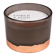 Buy Paddywax Gilt Amber Resin 3 Wick Scented Candle Online at johnlewis.com
