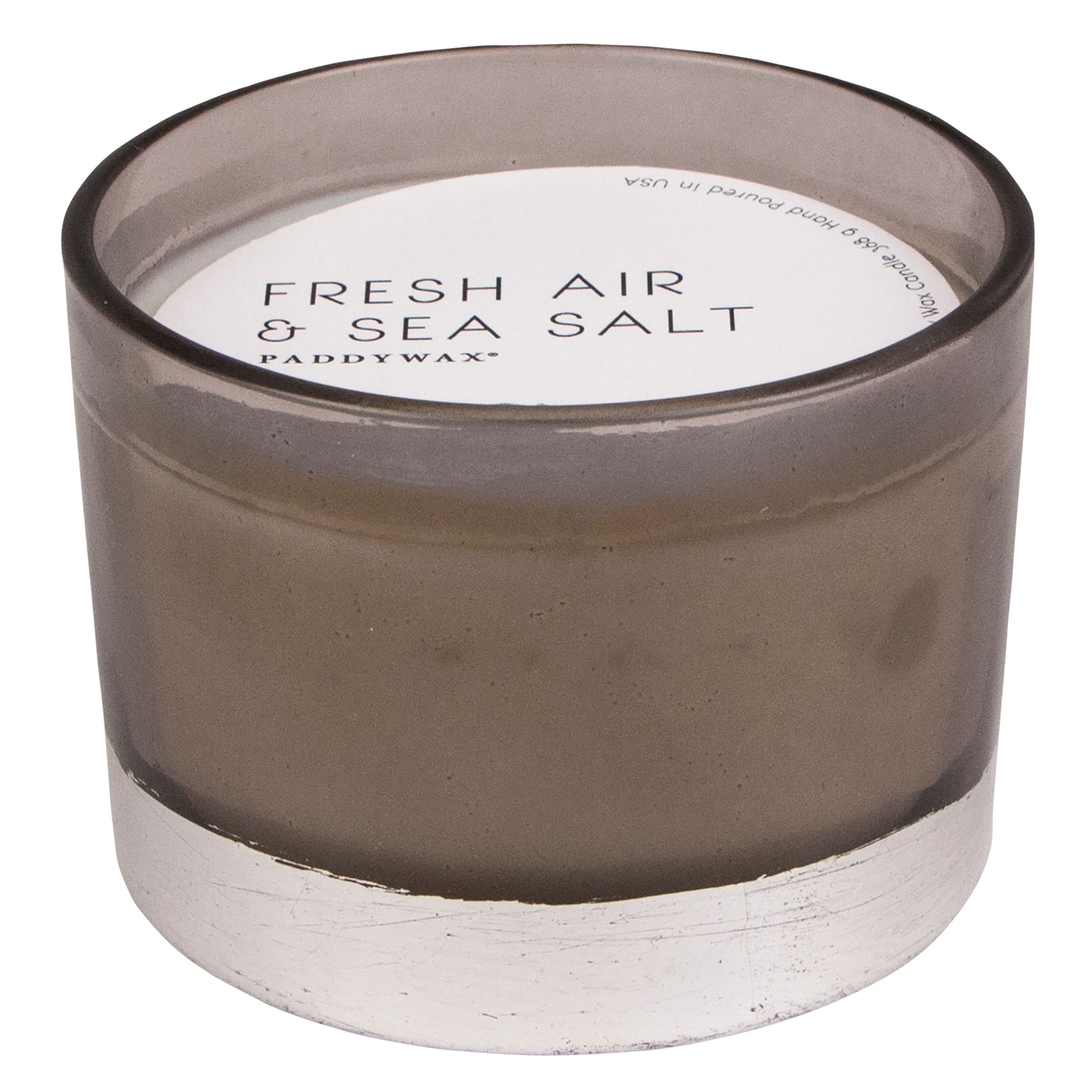 Paddywax Paddywax Gilt Air Sea Salt 3 Wick Scented Candle