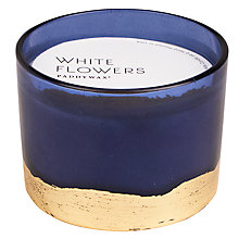 Buy Paddywax Gilt White Flowers 3 Wick Scented Candle Online at johnlewis.com