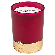 Buy Paddywax Gilt Pomegranate Cassis Scented Candle Online at johnlewis.com