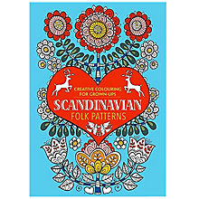 Buy Creative Colouring for Grown-Ups - Scandinavian Folk Patterns Online at johnlewis.com