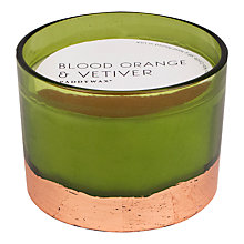 Buy Paddywax Gilt Blood Orange Vetiver 3 Wick Scented Candle Online at johnlewis.com