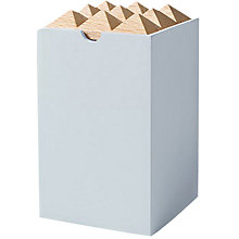Buy Korridor Small Pyramid Storage Box Online at johnlewis.com
