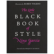 Buy The Little Black Book Of Style Online at johnlewis.com