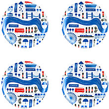 Buy Ary London Coasters, Set of 4, FSC-certified (Birch) Online at johnlewis.com