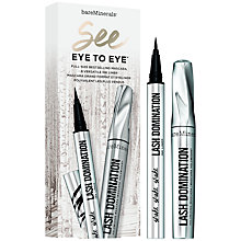Buy bareMinerals See Eye to Eye™ Lash Domination® Mascara and Ink Liner Duo Online at johnlewis.com