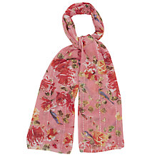 Buy Oasis Butterfly Rose Scarf, Multi Online at johnlewis.com