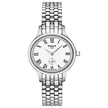 Buy Tissot T1031101103300 Women's T-Lady Bella Ora Bracelet Strap Watch, Silver/White Online at johnlewis.com