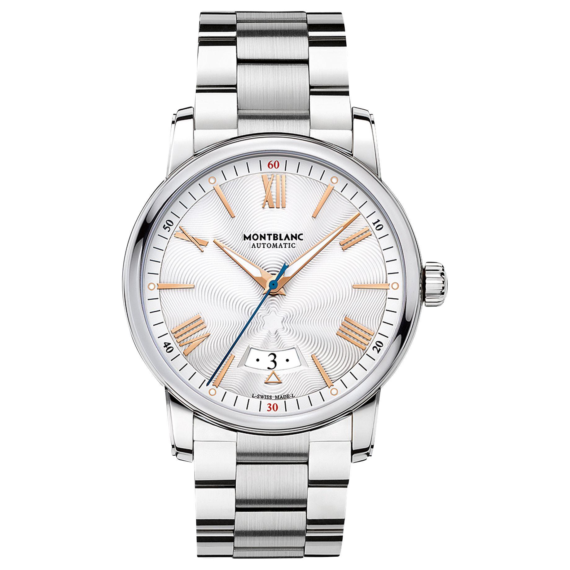 Montblanc Montblanc 114852 Men's 4810 Date Bracelet Strap Watch, Silver
