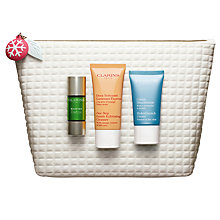 Buy Clarins Well Being Collection Skincare Gift Set Online at johnlewis.com