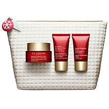 Buy Clarins Super Restorative Collection Skincare Gift Set Online at johnlewis.com