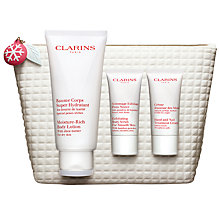 Buy Clarins Bodycare Collection Skincare Gift Set Online at johnlewis.com
