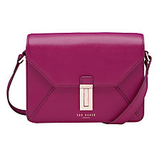 Buy Ted Baker Ellen Leather Across Body Bag Online at johnlewis.com