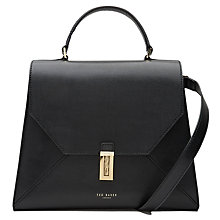 Buy Ted Baker Ellice Leather Top Handle Grab Bag Online at johnlewis.com