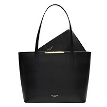Buy Ted Baker Kym Leather Small Shopper Bag Online at johnlewis.com