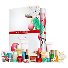 Buy Clarins Advent Calendar Makeup Gift Set Online at johnlewis.com
