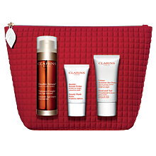 Buy Clarins Double Serum, 50ml Skincare Gift Set Online at johnlewis.com