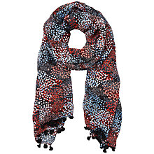 Buy L.K. Bennett Sammi Silk Scarf, Printed Black Online at johnlewis.com