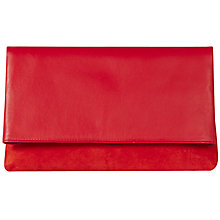 Buy Karen Millen Leather And Suede Brompton Clutch Online at johnlewis.com