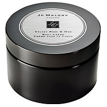 Buy Jo Malone London Velvet Rose & Oud Intense Body Crème, 175ml Online at johnlewis.com
