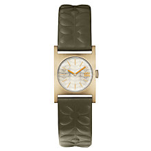 Buy Orla Kiely Women's Nemo Leather Strap Watch Online at johnlewis.com