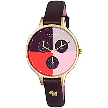 Buy Radley Women's Abbey Single Chronograph Leather Strap Watch Online at johnlewis.com