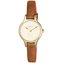 Buy Radley Women's Wimbledon Mini Leather Strap Watch Online at johnlewis.com