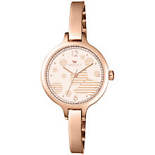 Buy Radley RY4256 Women's Ormond Bracelet Strap, Rose Gold/Cream Online at johnlewis.com