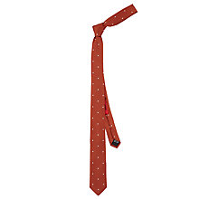Buy HUGO by Hugo Boss Spot Woven Silk Tie Online at johnlewis.com