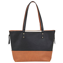 Buy Oasis Rosie Reversible Shopper Bag, Multi/Black Online at johnlewis.com