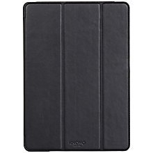 Buy Knomo Leather Folio Cover for iPad Air 2, Black Online at johnlewis.com
