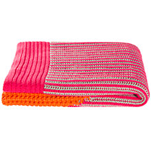 Buy Kas Tanner Knit Throw Online at johnlewis.com