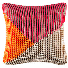 Buy Kas Tanner Knit Cushion Online at johnlewis.com