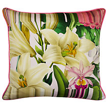 Buy Ted Baker Encyclopedia Floral Cushion Online at johnlewis.com