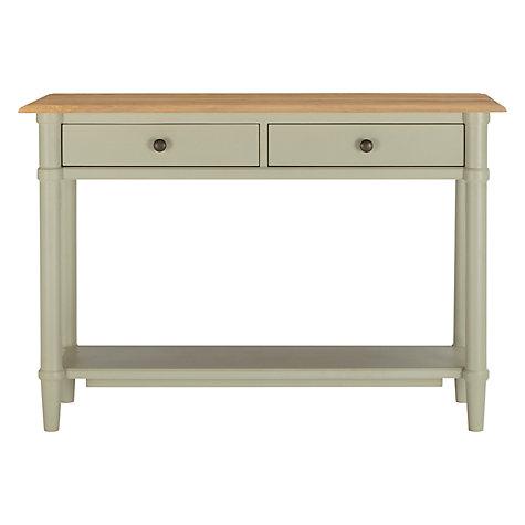 Buy john lewis stockbridge console table john lewis for Sofa table john lewis