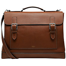 Buy Mullbery Buckle Holdall, Oak Online at johnlewis.com
