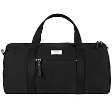 Buy Sandqvist Sonny Ground Gym Bag, Black Online at johnlewis.com