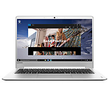 "Buy Lenovo Ideapad 710S Laptop, Intel Core i7, 8GB RAM, 256GB SSD, 13.3"" Full HD, Silver Online at johnlewis.com"