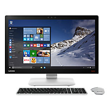 "Buy Lenovo Ideacentre 910 All-in-One Desktop PC, Intel Core i5, 8GB RAM, 1TB, 27"" Full HD, Silver Online at johnlewis.com"